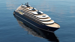Una infografía del Evrima, el crucero que The Ritz Carlton Yacht Collection construye en Barreras./WEB THE RITZ CARLTON.