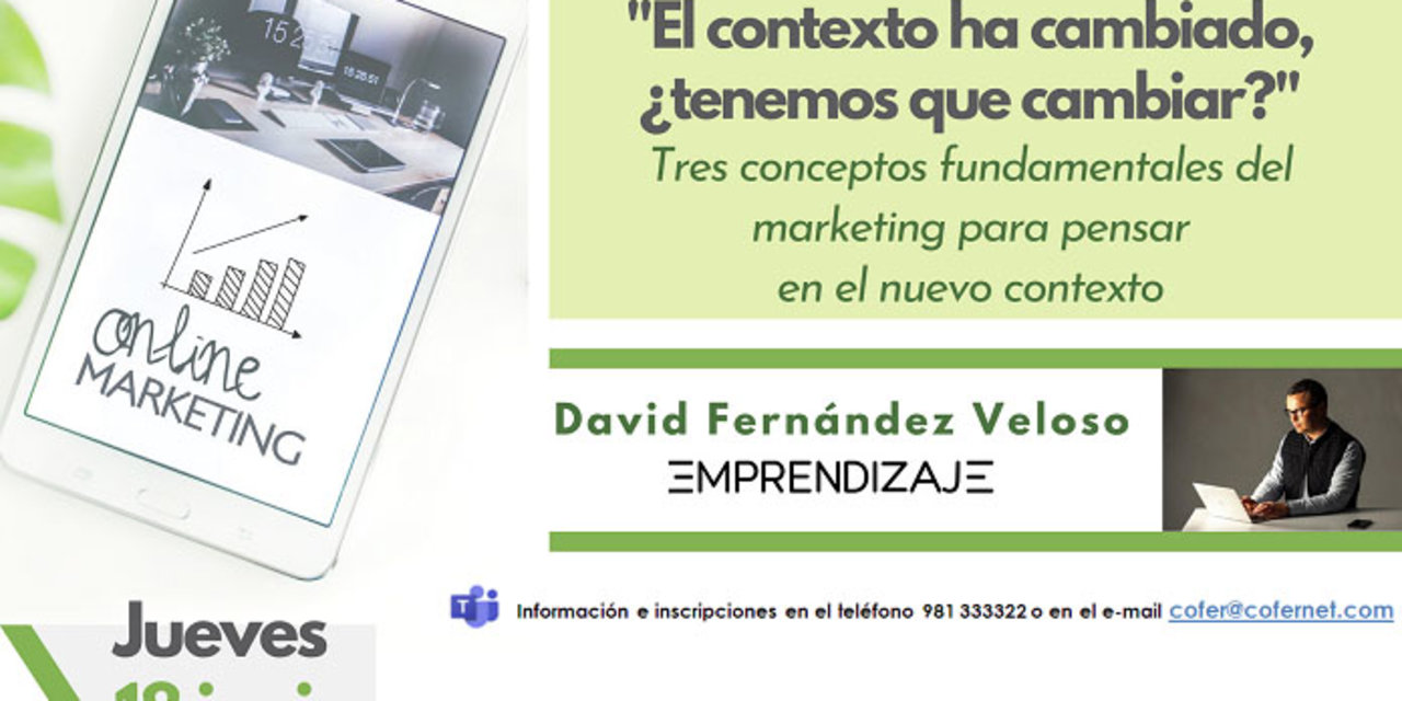 Webinar sobre marketing de Cofer.