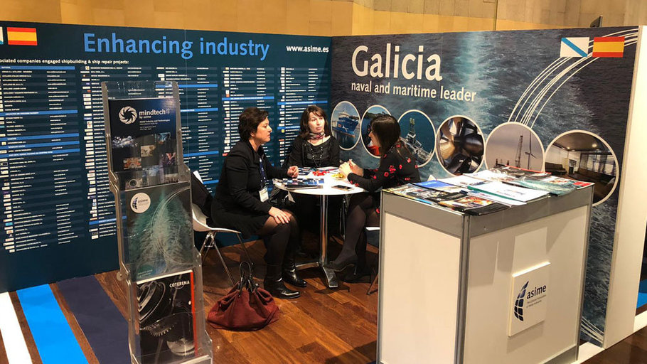 La industria naval gallega busca contactos en World Maritime Week