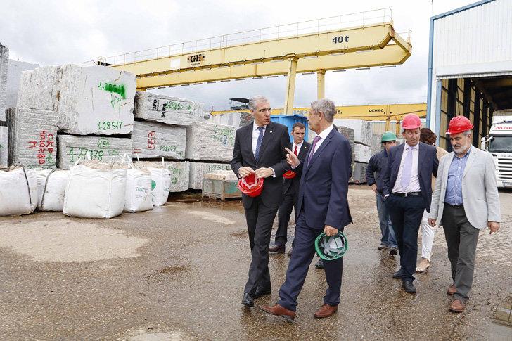 Eurockp ejemplo de la apuesta del sector del granito por for Empresas de granito