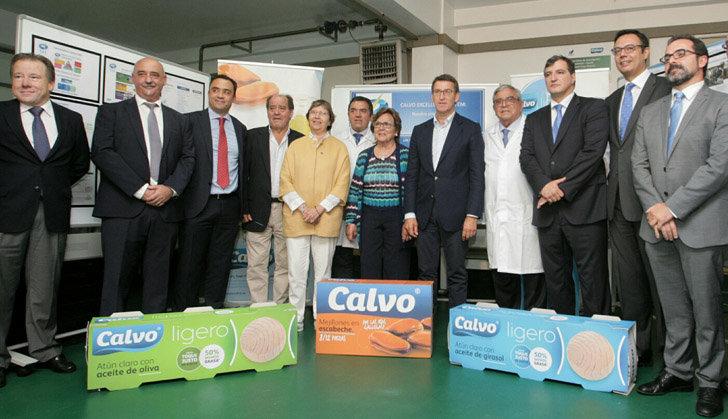 Feijóo pone al Grupo Calvo como ejemplo de emprendimiento ...