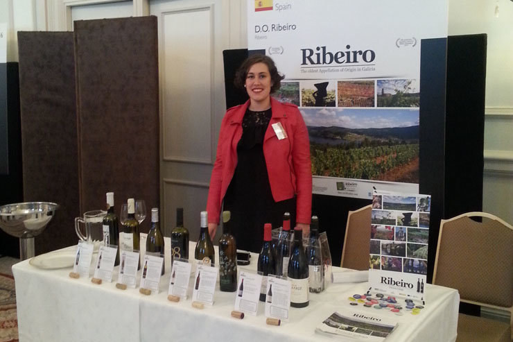 "Vinos de la D.O. Ribeiro que participaron en ""Decanter Spain & Portugal Encounter""."