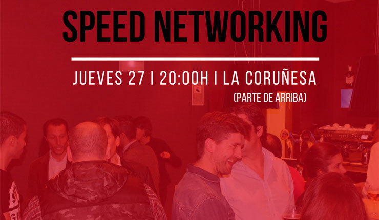 Evento de speed networking organizado por AJE Ourense.