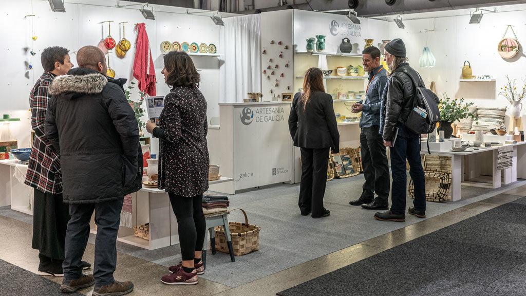 La Artesanía De Galicia Se Promociona En La Feria De Referencia Del
