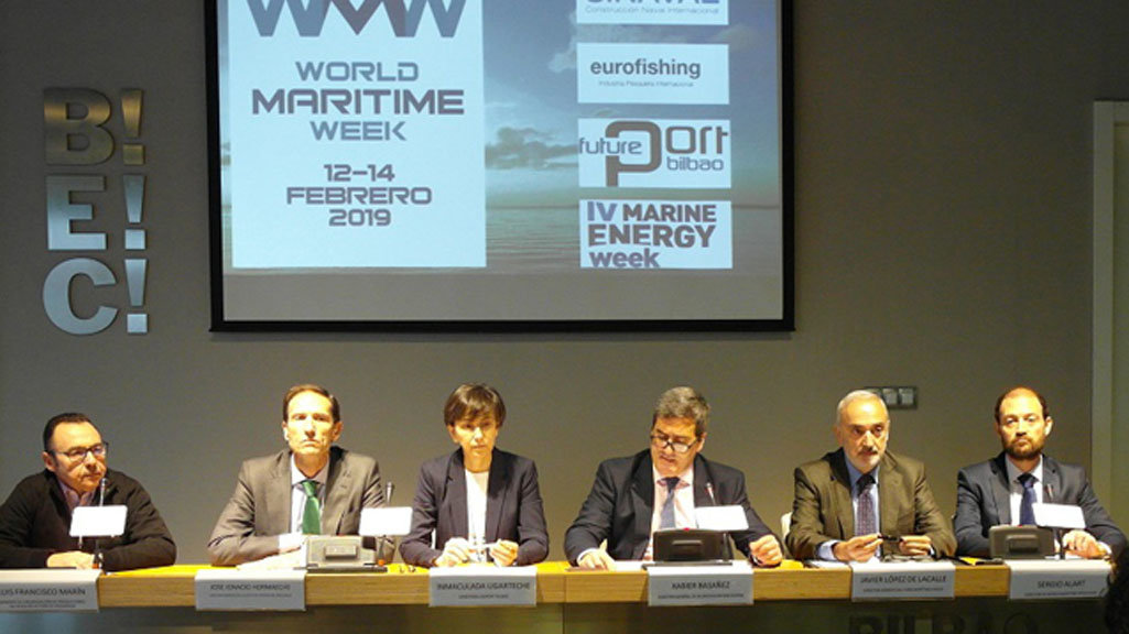 Presentación World Maritime Week 2019./BILBAO EXHIBITION CENTRE.